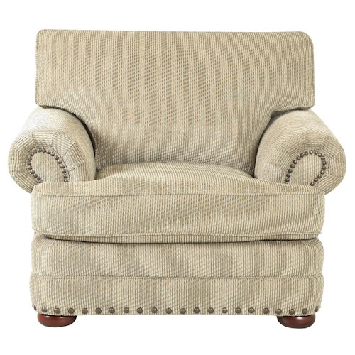 Simple Elegance San Padre Traditional Styled Living Room Chair