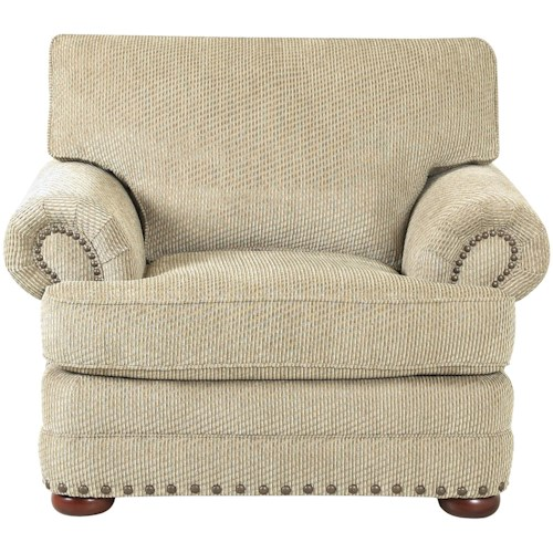 Klaussner Cliffside  Traditional Styled Living Room Chair