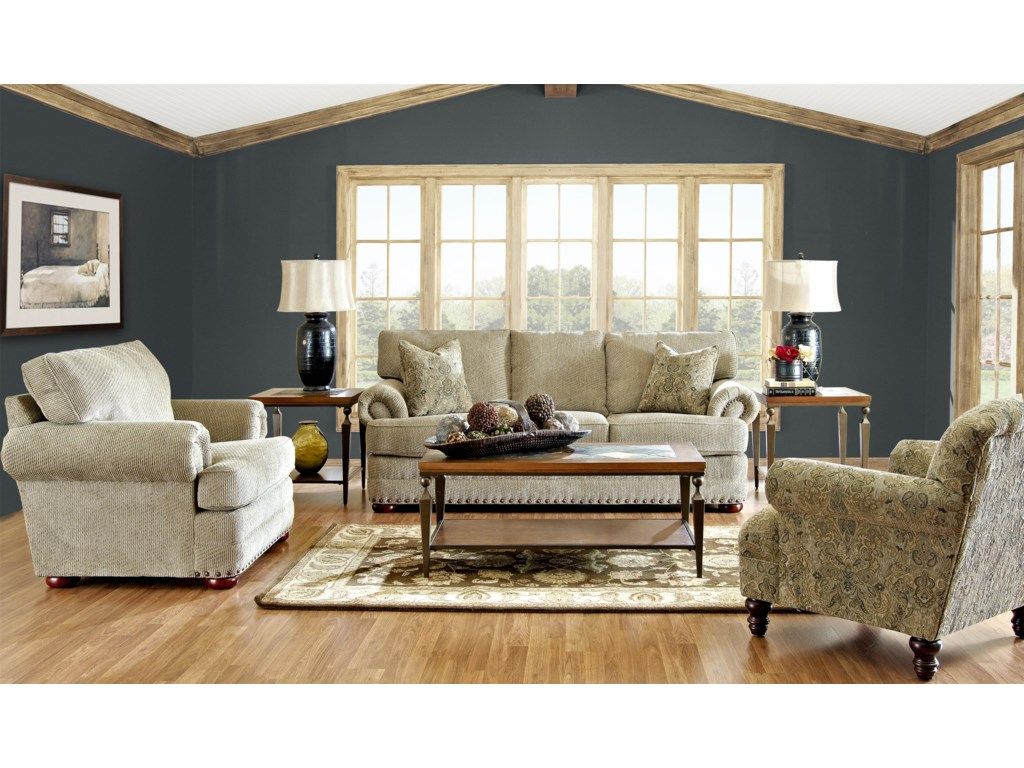 Shown with Coordinating Collection Sofa and Accent Chair