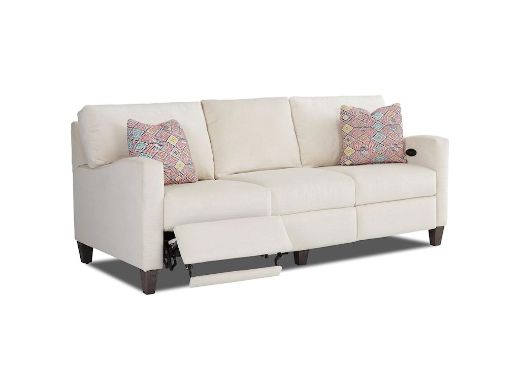 Klaussner ColleenPower Hybrid Sofa