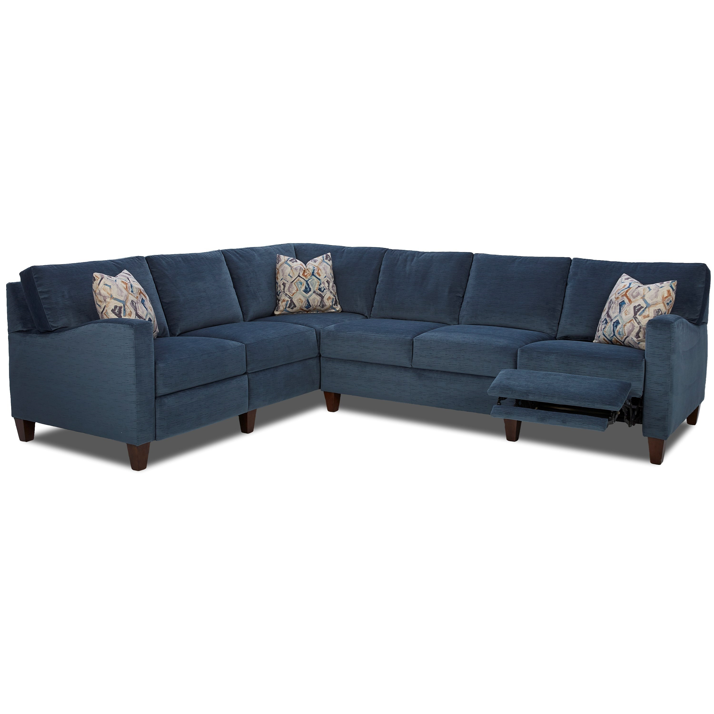 Klaussner Colleen Hybrid Reclining Sectional with LAF Corner Sofa  sc 1 st  Wayside Furniture & Klaussner Colleen Hybrid Reclining Sectional with LAF Corner Sofa ... islam-shia.org