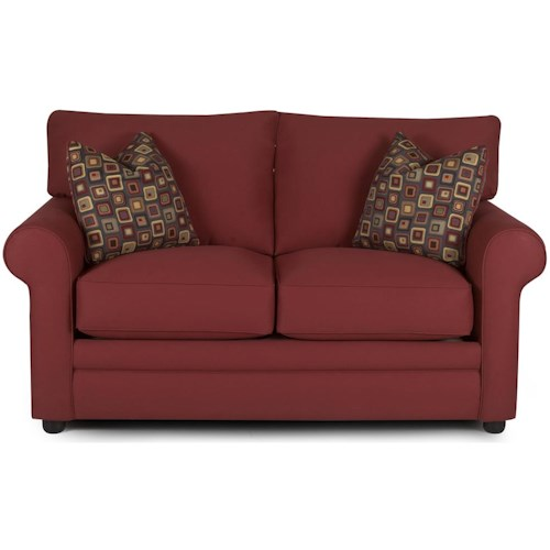 Klaussner Comfy Casual Loveseat