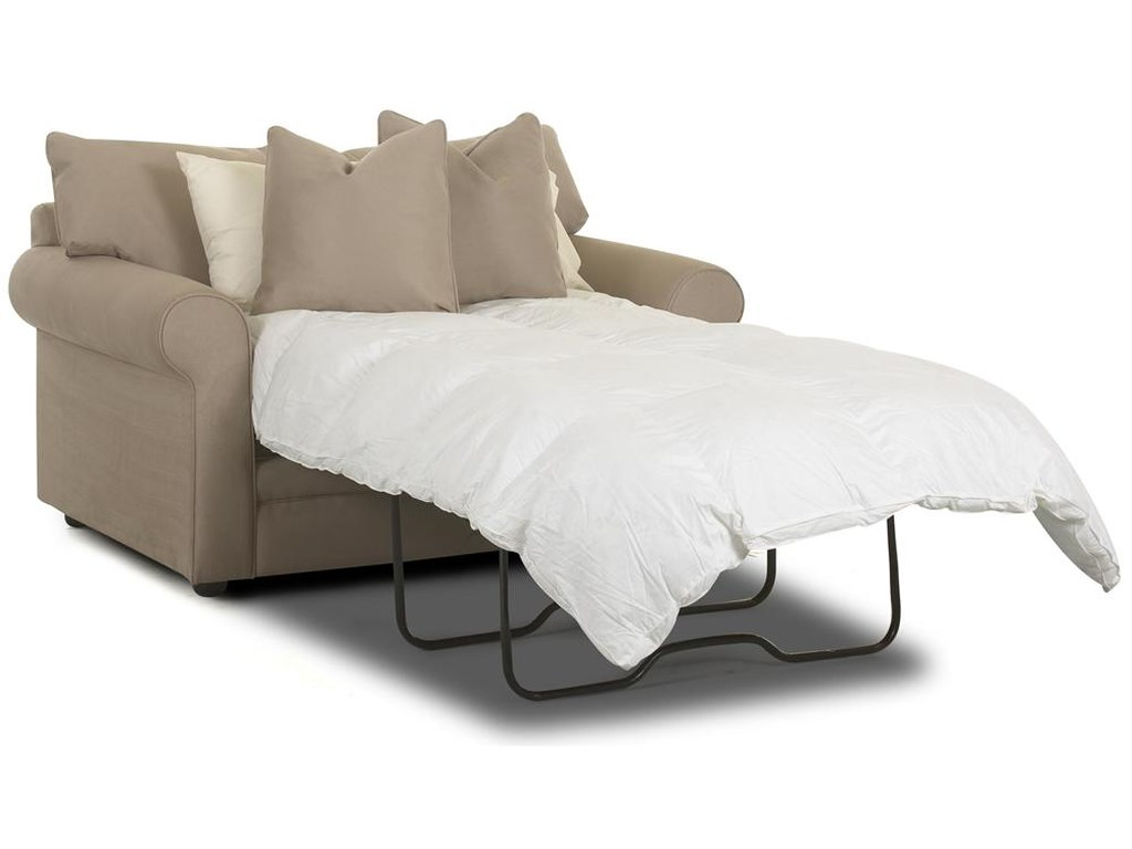 Klaussner ComfyChair Sleeper w/ Innerspring Mattress