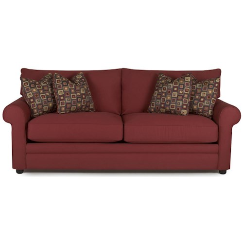 Klaussner Comfy Casual Sofa Pilgrim Furniture City Sofas