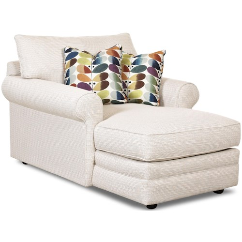 Klaussner Comfy Casual Chaise Lounge