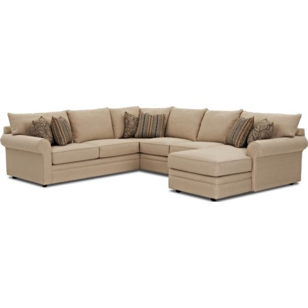 Sectional Sofa w/ RAF Chaise