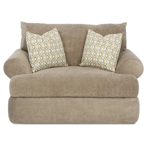Klaussner Cora Casual Plush Big Chair