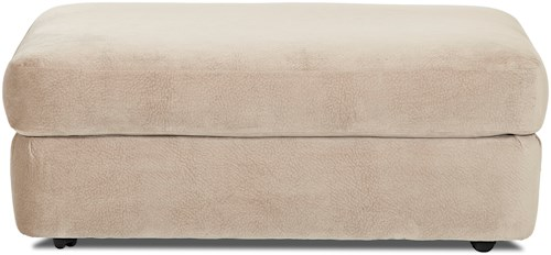 Klaussner Cora Large Plush Cocktail Ottoman