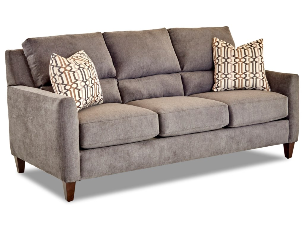 Klaussner CortlandSofa w/ Pillows