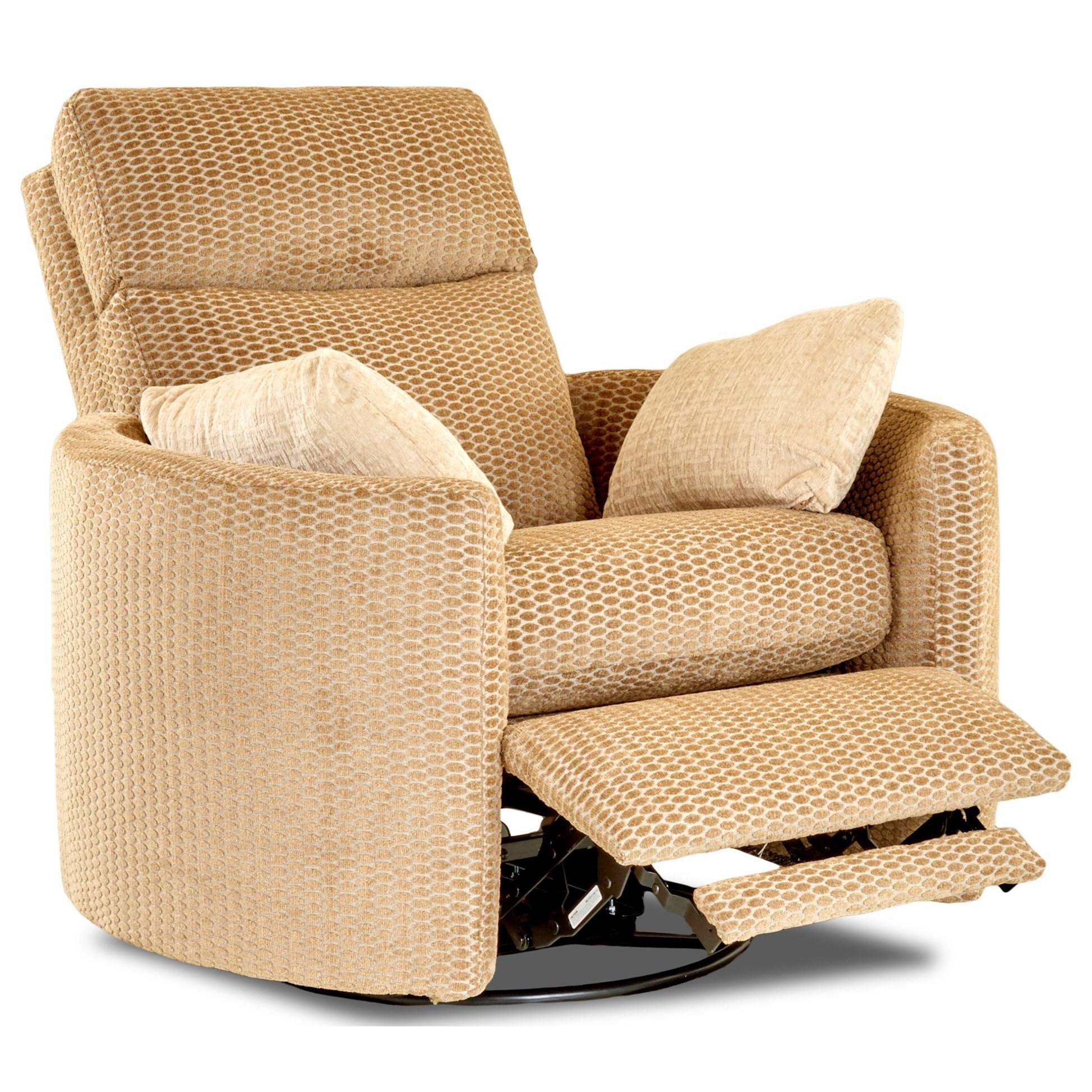 ... Klaussner CosmoPower Reclining Swivel Chair