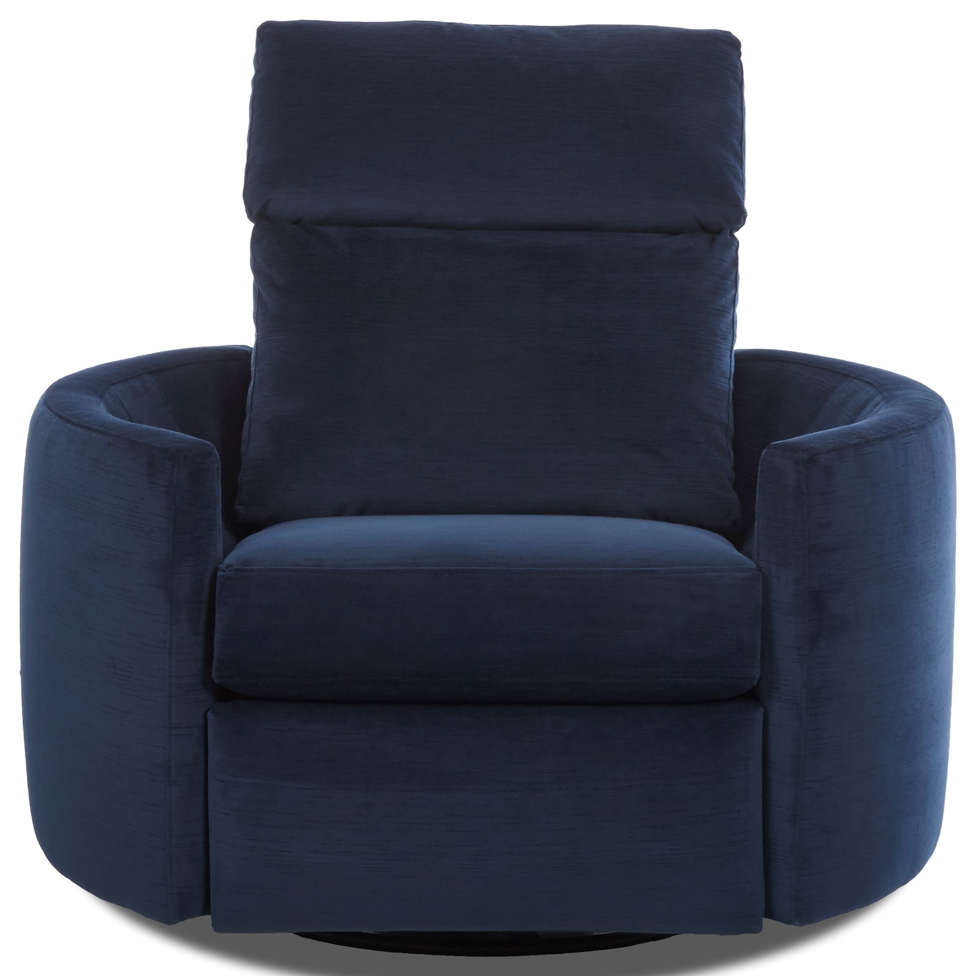 Gentil Klaussner Cosmo Contemporary Reclining Swivel Chair