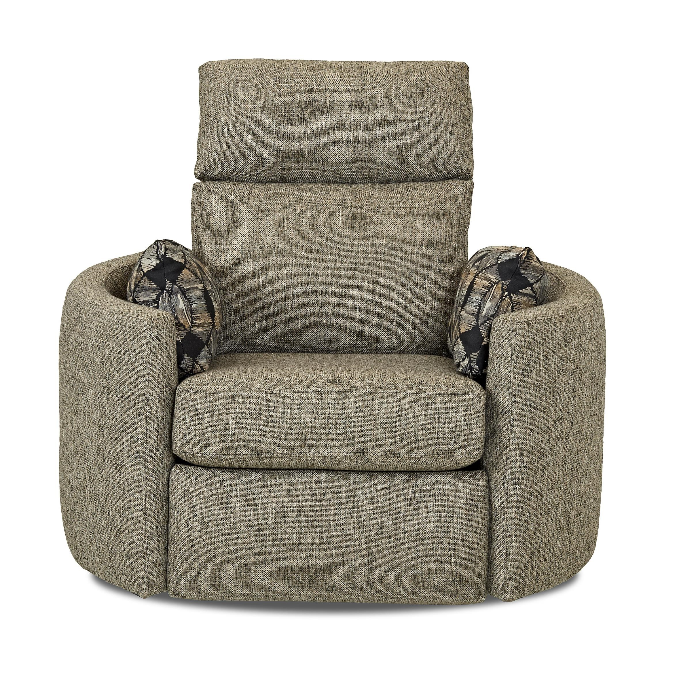 Klaussner Cosmo Contemporary Reclining Swivel Chair  sc 1 st  Wayside Furniture & Klaussner Cosmo Contemporary Reclining Swivel Chair - Wayside ... islam-shia.org