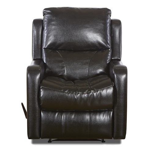 Klaussner Cruiser Transitional Swivel Rocking Reclining Chair