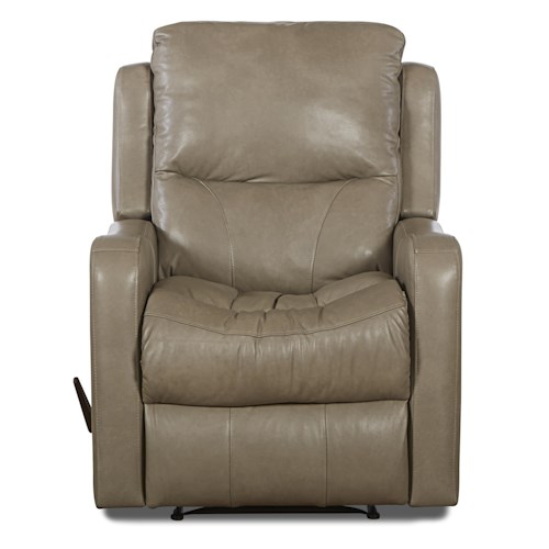 Klaussner Cruiser Transitional Gliding Reclining Chair