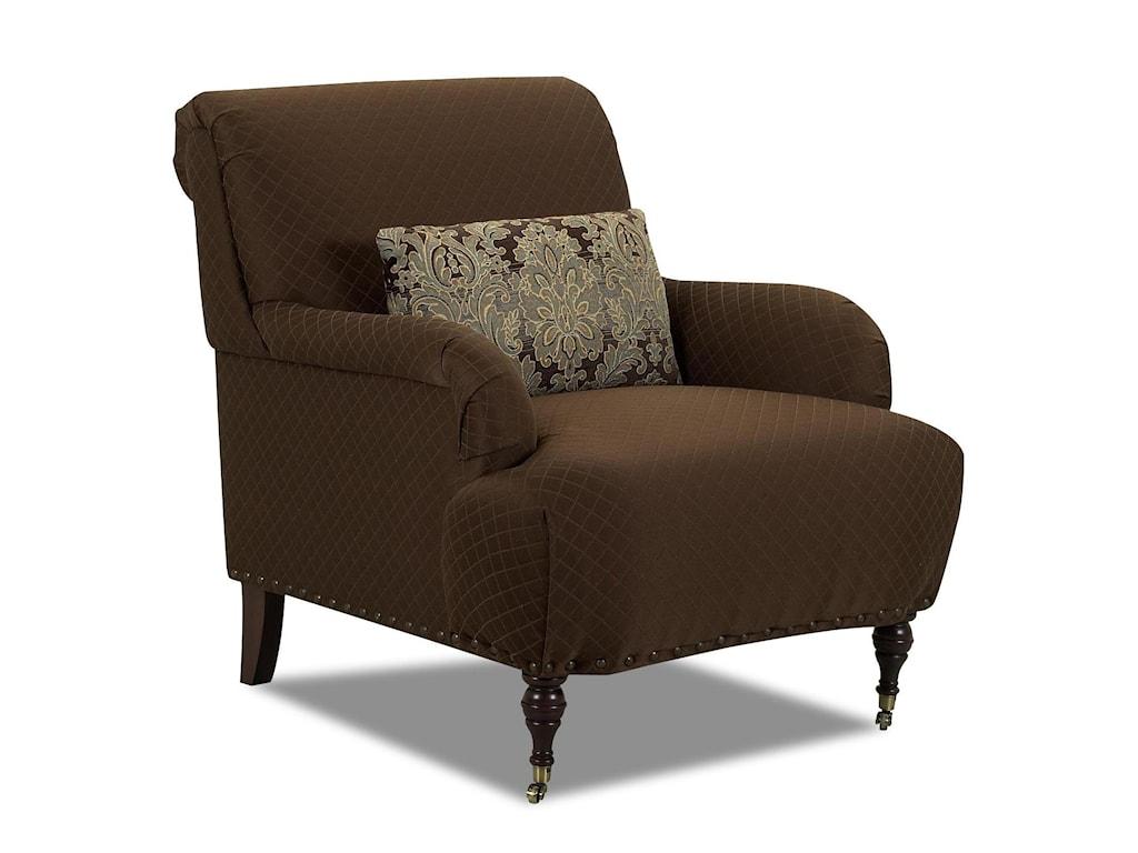 Klaussner DapperAccent Chair