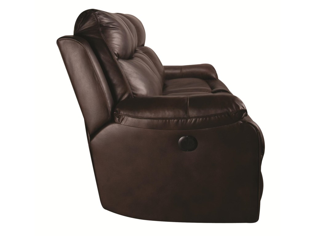 Elliston Place DariusDarius Leather-Match* Power Reclining Sofa