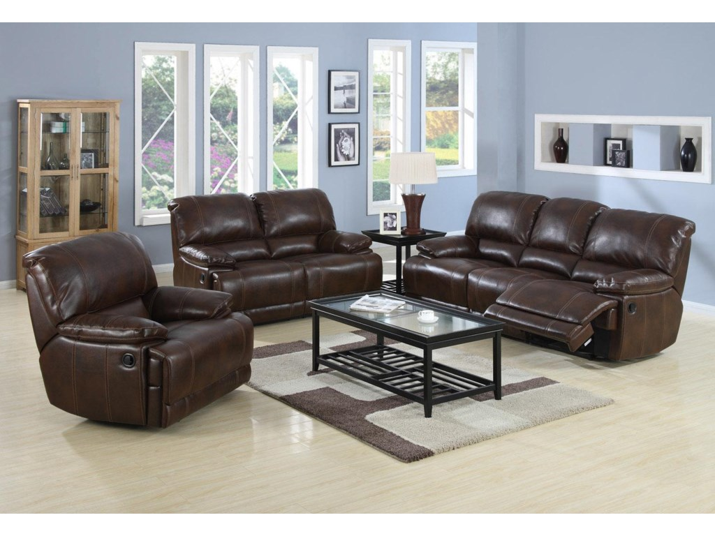 Shown with Coordinating Reclining Love Seat and Gliding Reclining Chair
