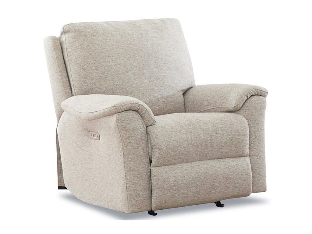 Klaussner DavosPower Recliner with Power Headrest