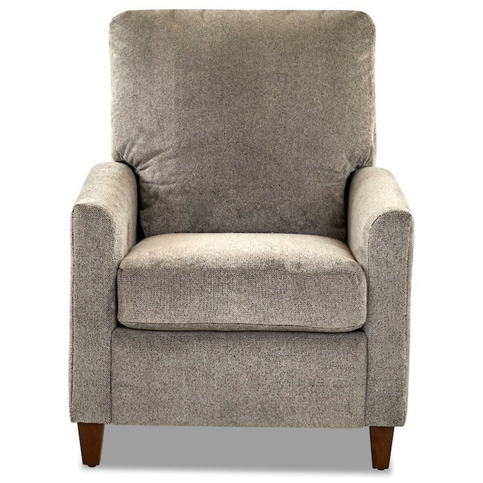 Power High Leg Recliner with Tapered Track Arms