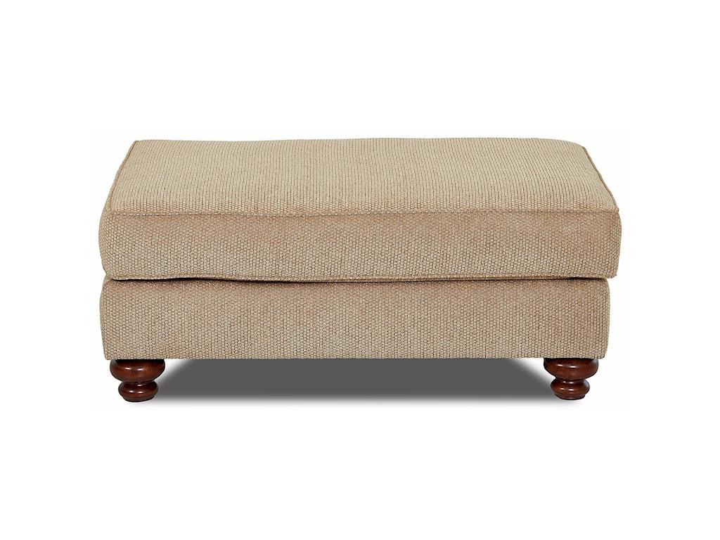 Klaussner Declan Chair & Ottoman Set