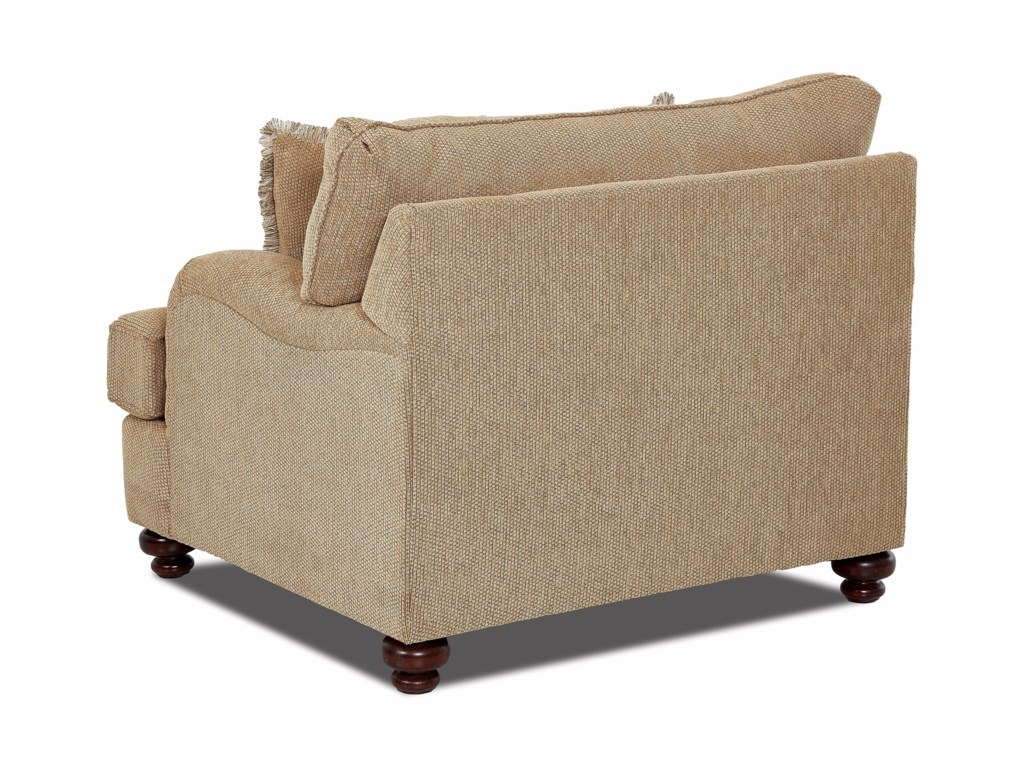 Klaussner Declan Chair and a half