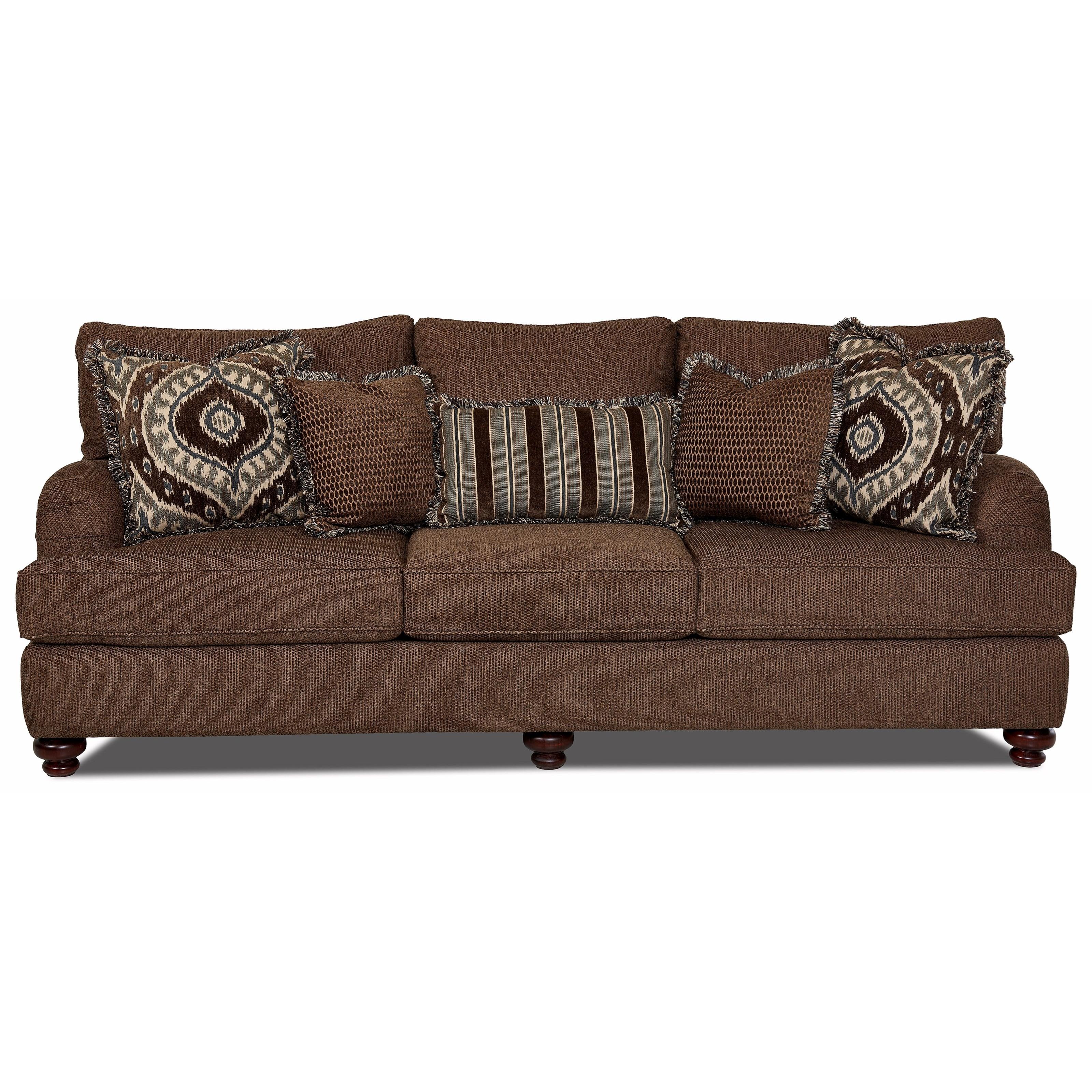 Klaussner Declan Traditional Sofa ...