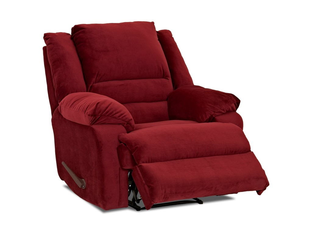 Klaussner DefenderCasual Reclining Rocking Chair