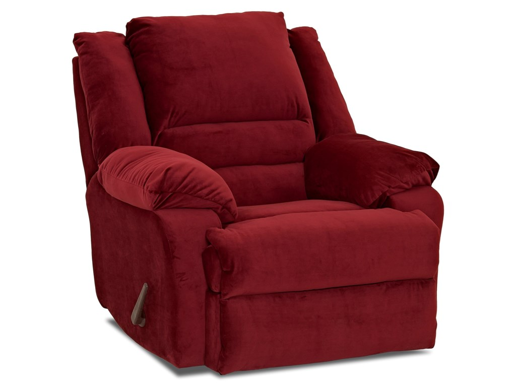 Klaussner DefenderCasual Swivel Rocking Reclining Chair