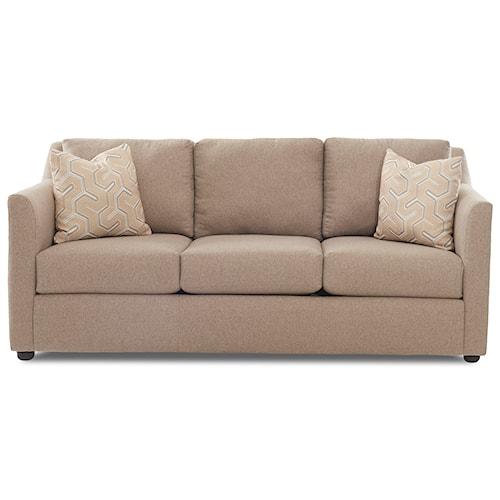 Klaussner Del Mar Enso Memory Foam Queen Sofa Sleeper