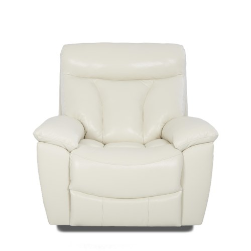 Klaussner Deluxe Gliding Recliner Chair