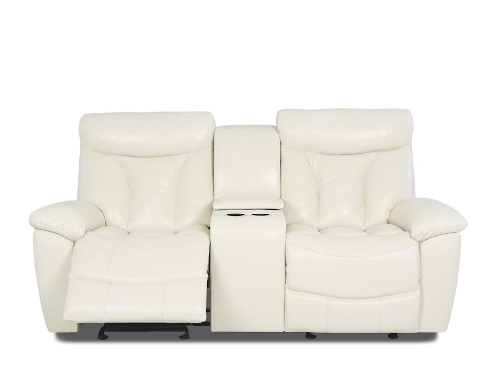 Klaussner DeluxeReclining Love Seat