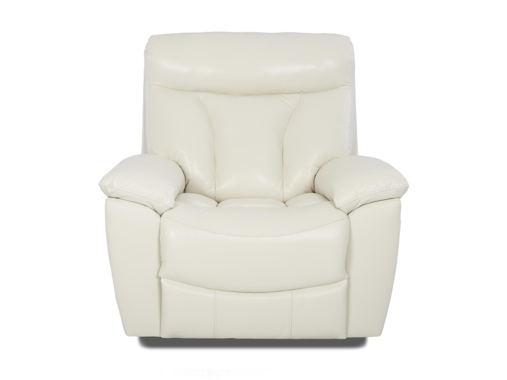 Klaussner DeluxeGlider Recliner with Swivel