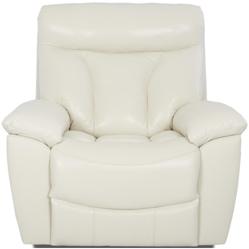 Klaussner Deluxe Gliding Recliner Chair with Swivel