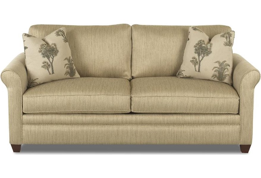 Klaussner Dopler Queen Sleeper Sofa With Air Coil Mattress Value City Furniture Sleeper Sofas