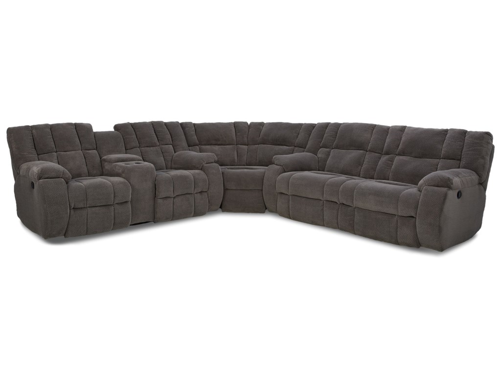 Klaussner DozerReclining Sectional