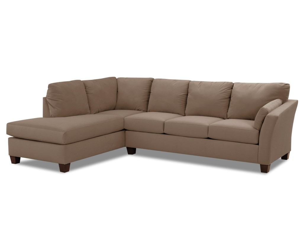 Elliston Place Drew Two Piece Sectional Sofa With Chaise Morris