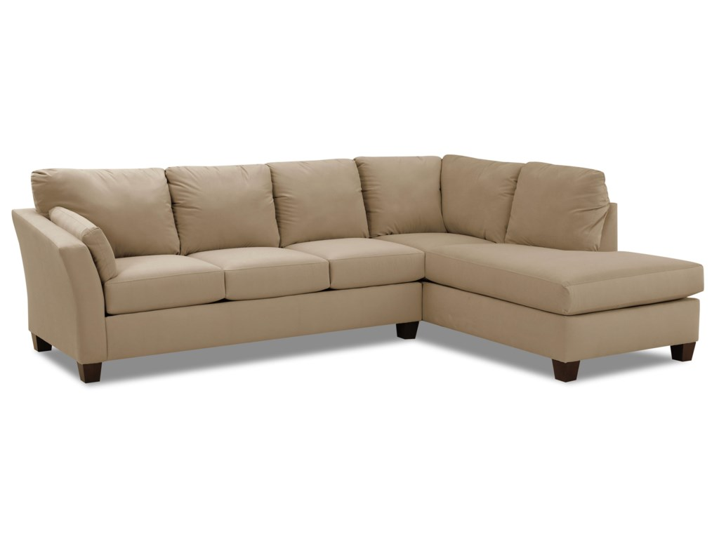 Klaussner DrewTwo Piece Sectional Sofa