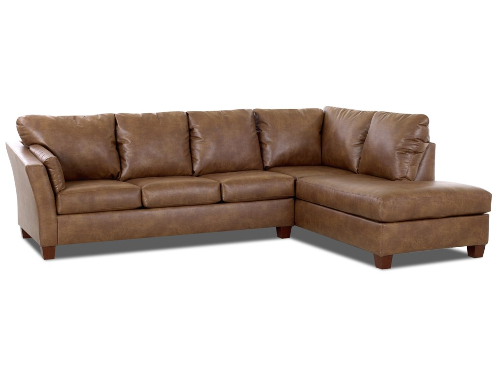 Klaussner Drew E16Two Piece Sectional Sofa