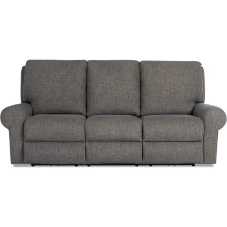 Pwr Recline Sofa w/Pwr Headrest/Lumbar