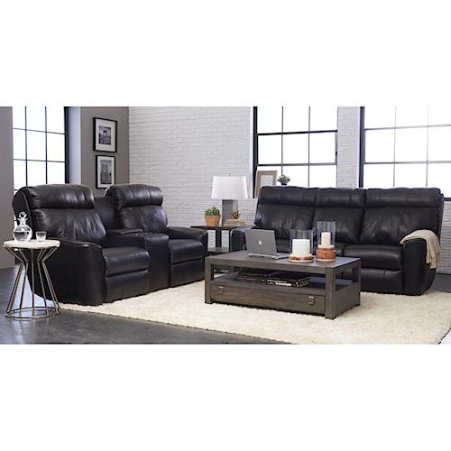 Klaussner Elara Power Reclining Living Room Group