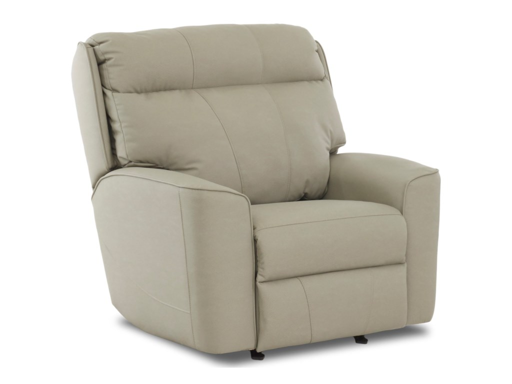 Klaussner ElaraPower Reclining Chair w/ Pwr Headrest