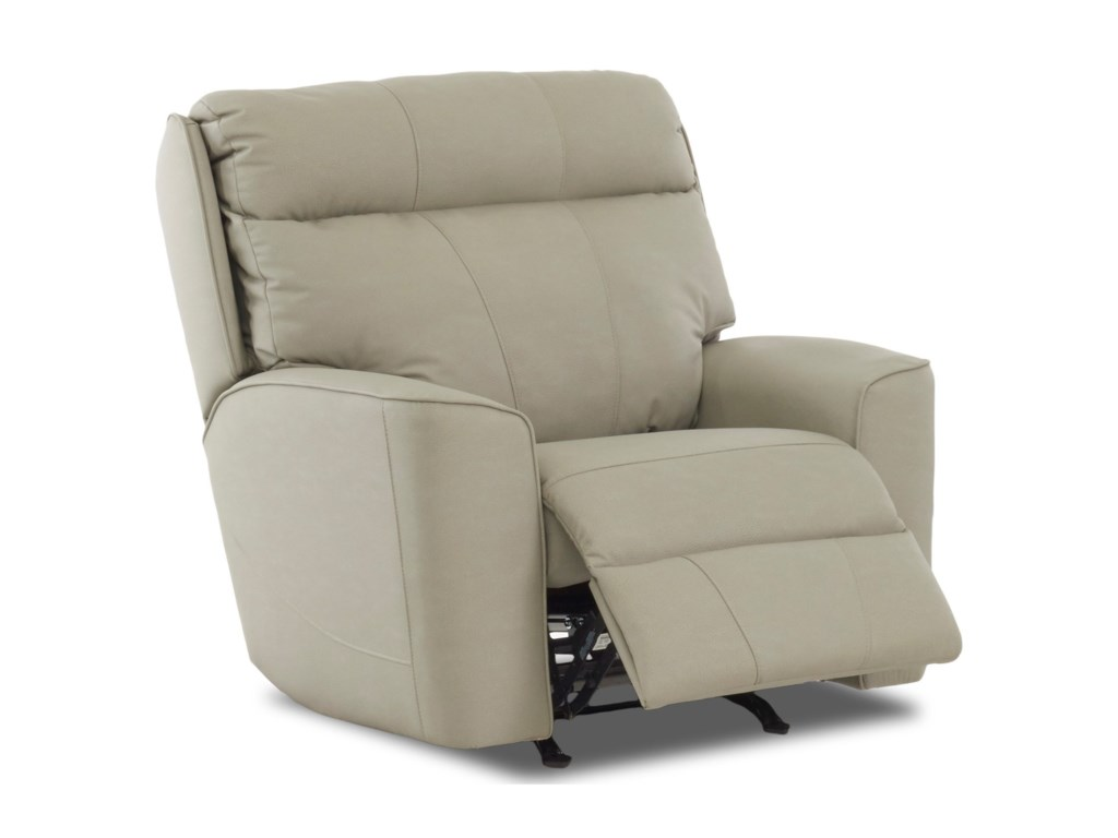 Klaussner ElaraPower Rock Reclining Chair w/ Pwr Headrest