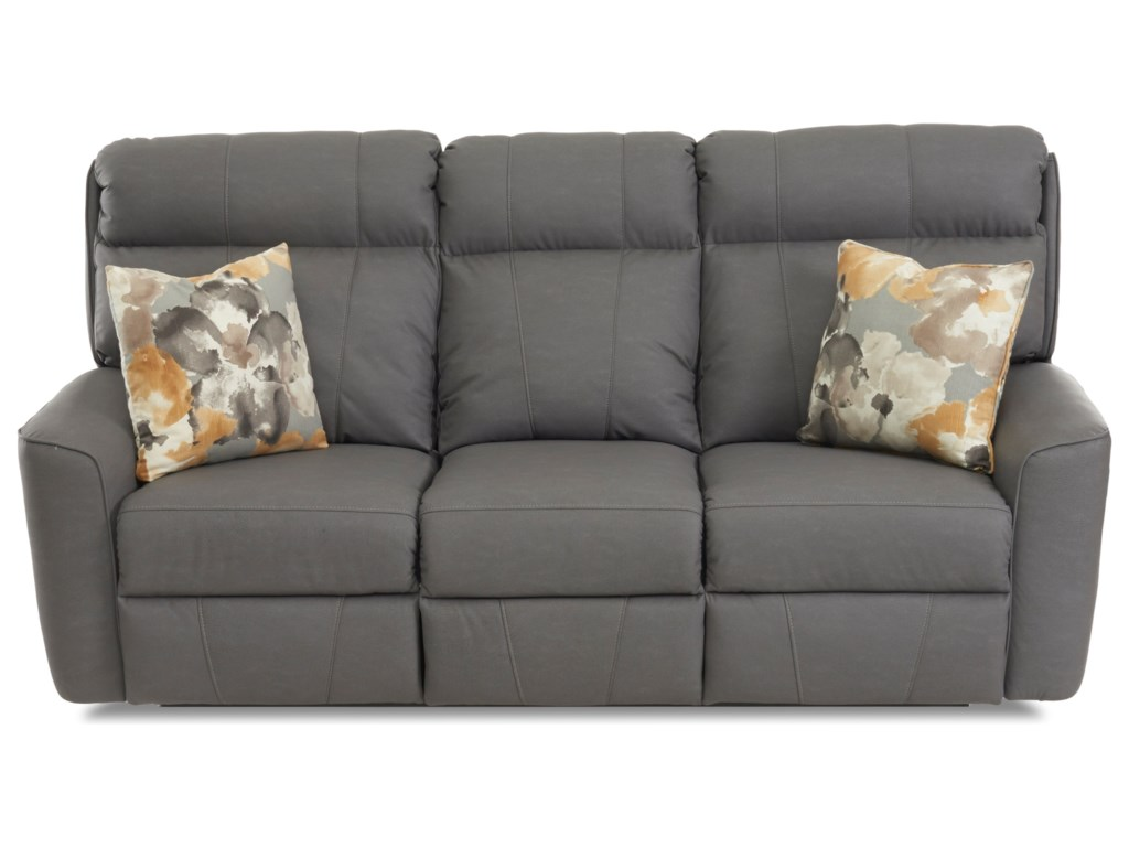 Klaussner ElaraReclining Sofa w/ Pillows