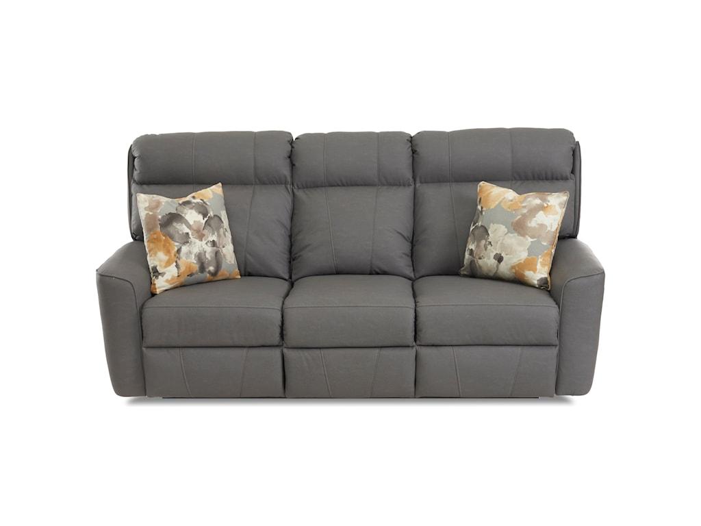 Klaussner ElaraPower Reclining Sofa w/ Pillows
