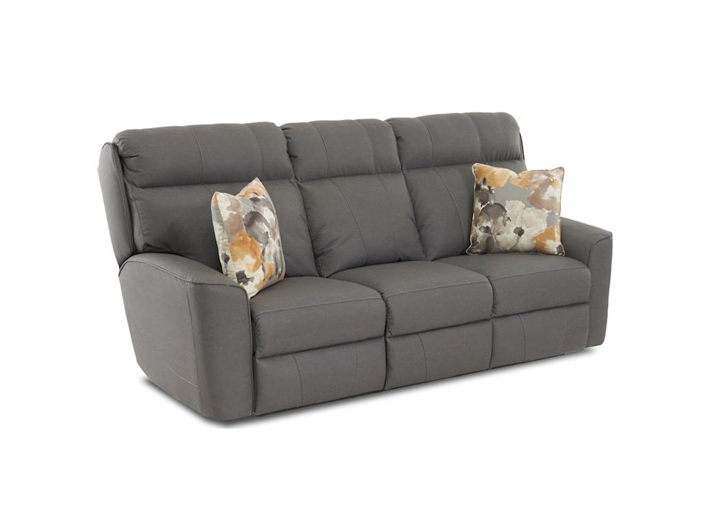 Klaussner ElaraReclining Sofa w/ Pillows