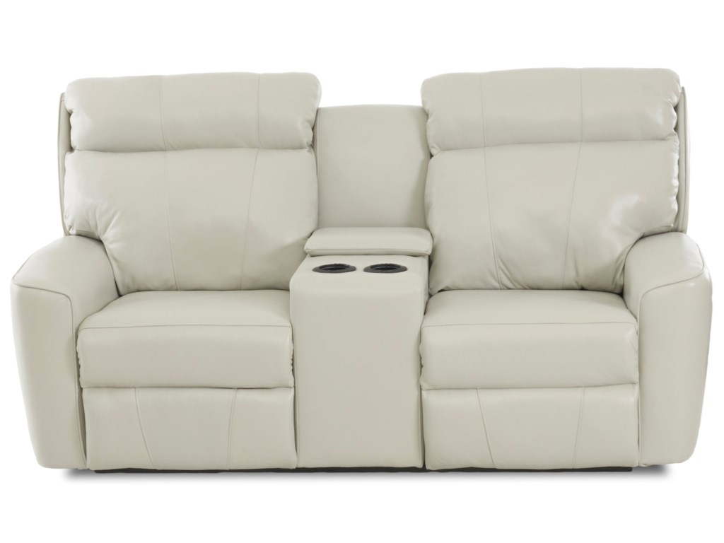 Simple Elegance ElaraPower Reclining LS w/console & Pwr Headrests