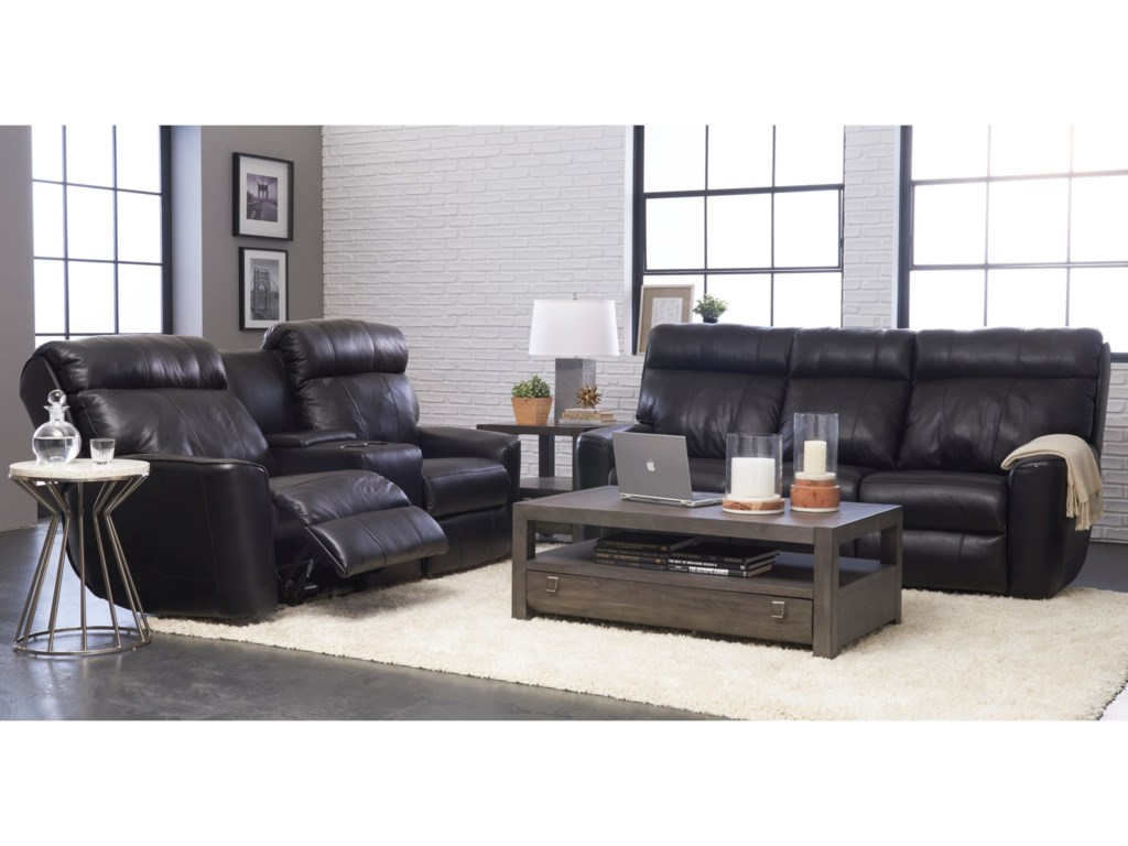 Elliston Place ElaraPower Reclining LS w/console