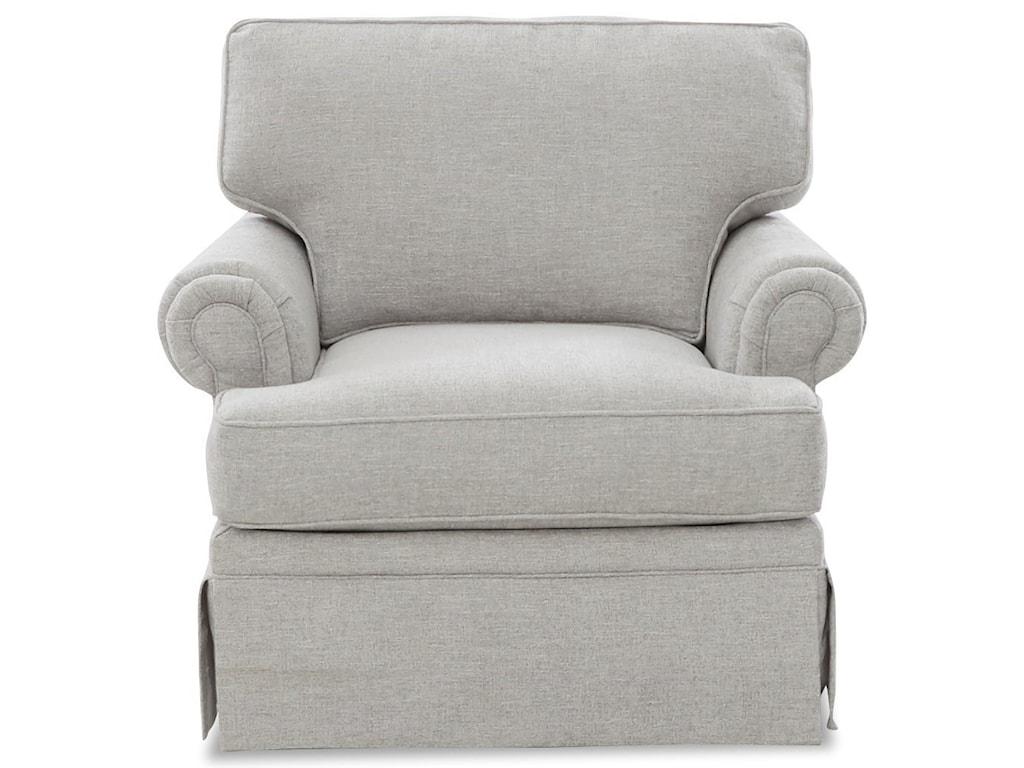 Klaussner EllaSwivel Glider Chair
