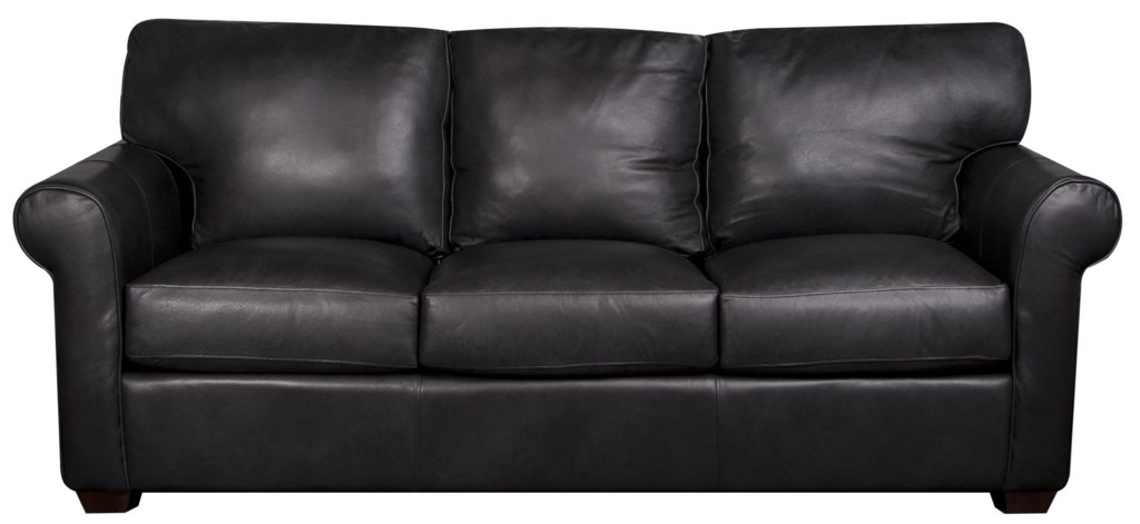 Elliston Place Eloise 100% Leather Sofa Morris Home Sofa