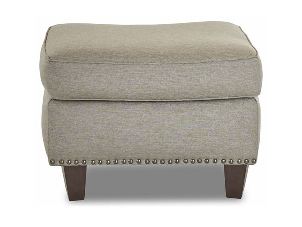 Klaussner EmoryTransitional Ottoman